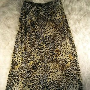 No Boundaries Maxi Skirt Long Size3-5